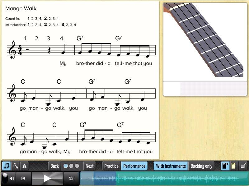 A beginner piece for guitar